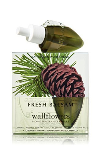 Bath & Body Works Wallflowers Home Fragrance Refill Bulbs Fresh Balsam 2 Pack by Bath & Body Works