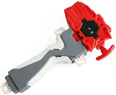 Bey Burst String launcher and Grip. Let it rip with Bey Burst, the third generation of the popular Bey Battling Top franchise!(Red)