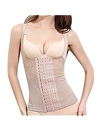 HHmei Women LargeSize Plastic Underbust Corsets Bandage Seamless Body Shaper