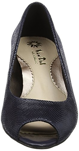Open Print Toe Women's Reptile Van Midnight Pumps Blue Dal Norton Fq7zwCWt