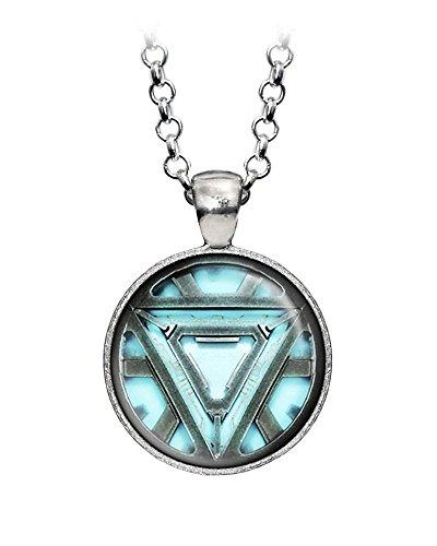 Arc Reactor Pendant, Iron Man Ironman Necklace, The Avengers Jewelry, Shield Jewellery, Superhero Earrings Gifts Gift, Geek Geeky Present Presents