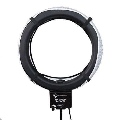 diva ring light super nova 18 dimmable photo video light with 6 39 light stand buy online in. Black Bedroom Furniture Sets. Home Design Ideas