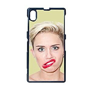 Generic For Sony Z1 Unique Phone Cases For Children Printing Miley Cyrus Choose Design 6