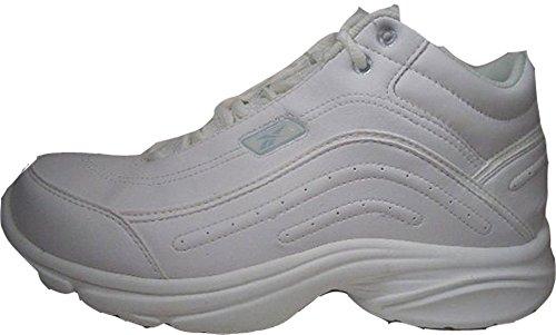 Reebok - Zapatillas para deportes de interior de Material Sintético para mujer Blanco blanco 38.5