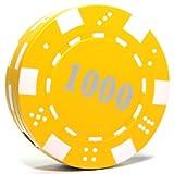 B1 $1000 Poker Chip Refillable Butane Lighter - 1.5 Inch - Unboxed -