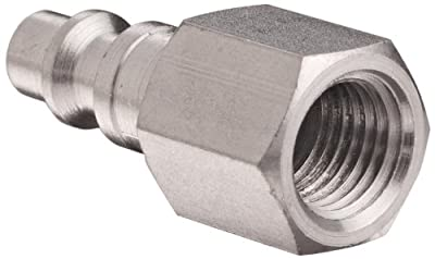 Dixon DCP Series Stainless Steel 303 Air Chief Industrial Interchange Quick-Connect Fitting, Plug, Coupling x NPT Female