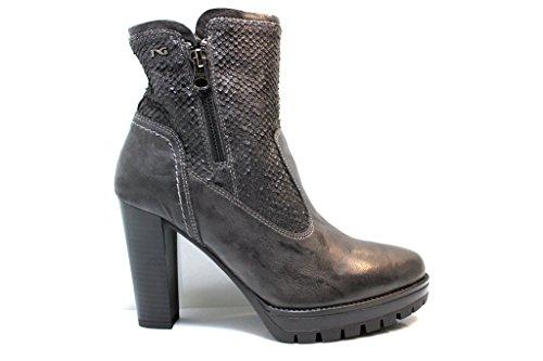 f2dd27a862d Nero Giardini Botas de Piel para mujer gris Venta Online ...