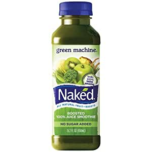 Naked Boosted Green Machine Juice Smoothie (32 fl oz) from H-E-B - Instacart
