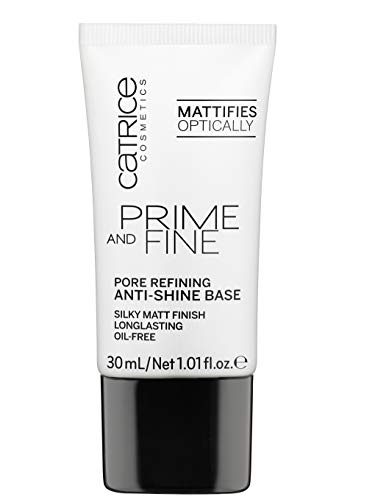 Catrice Primer Prime And Fine Pore Refining Anti-Shine Base, Pack of 1, 60 g