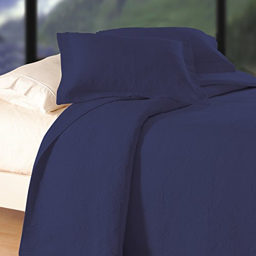 C&F Home Matelasse, Twin, Indigo by C&F Home