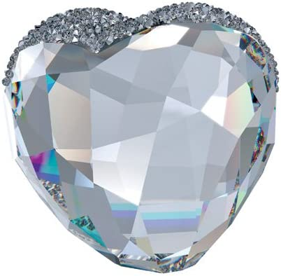 SWAROVSKI Love Heart Figurine, Crystal, Large