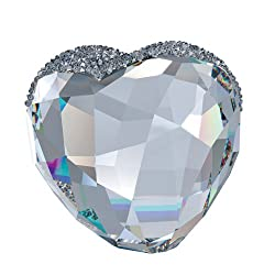 Love Heart Figurine In Crystal