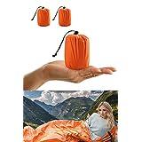 Life Bivy Emergency Sleeping Bag Thermal Bivy - Use as Emergency Bivy Sack, Survival Sleeping Bag, Emergency Blanket, Survival Gear - Includes Nylon Sack