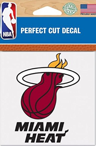 fan products of NBA Miami Heat Perfect Cut Color Decal, 4