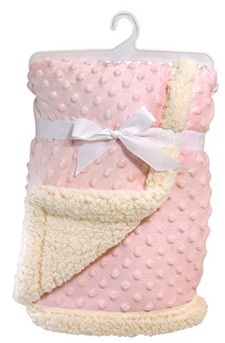 stephan-baby-super-soft-reversible-velour-plush-or-sherpa-bumpy-blanket-pink