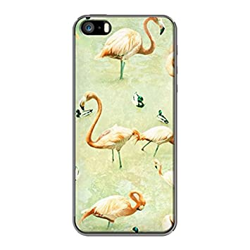 coque iphone 5 flamingo
