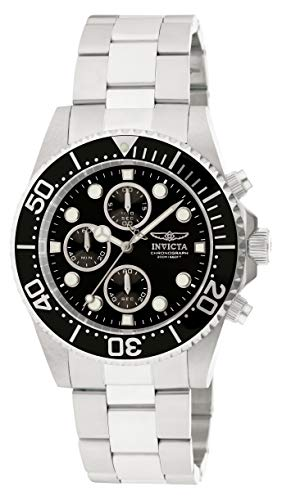 Invicta Men's 1768 Pro Diver Collection Stainless Steel Watch with Black - Edge Invicta Diver Coin