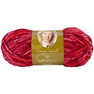 Premier Yarn Deborah Norville Collection 3-Pack Serenity Chunky Light Color Yarn, Berry Burst