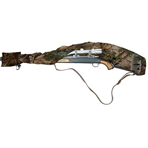 Slicker GunSlicker - Waterproof, Ultralight, Packable Gun Case for Rifles and Shotguns - Alpine Mountain Camo