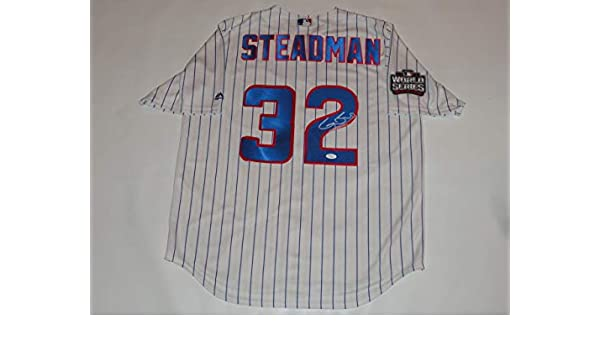 official photos dcb6f 51127 GARY BUSEY SIGNED #32 CHICAGO CUBS CHET STEADMAN JERSEY ...
