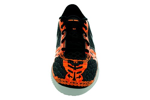 NIKE Big Boy's Kobe Bryant's KB Mentality Basketball Shoe, Blk/Tumbled Grey/Orange Pwtr/Blk/Tmbld Gry/Nght Slv