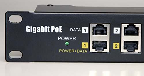 WS-GPOE-12-48v240w gigabit 12 Port Power over Ethernet Injector passive POE for 802.3af devices by WiFi-Texas (Image #2)'