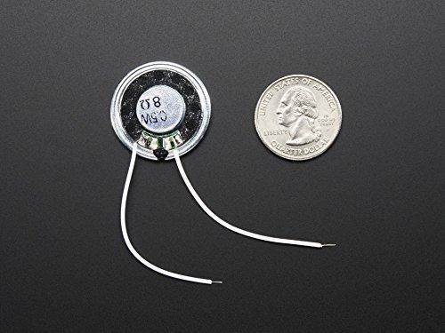 Adafruit Mini Metal Speaker w/ Wires - 8 ohm 0.5W