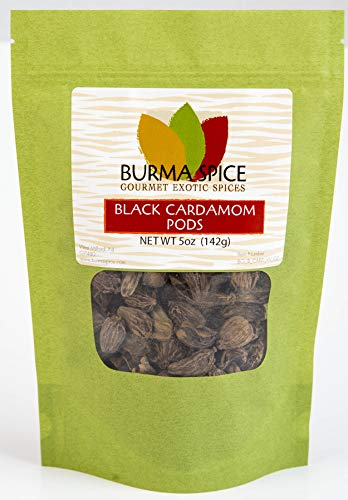 Black Cardamom Pods : Smokey, Dried, Indian Seasoning Spice -