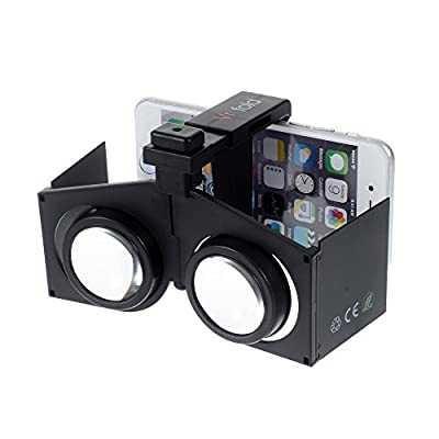 VR Fold 3D Virtual Reality Glasses for Mobile Phone with Foldable Design