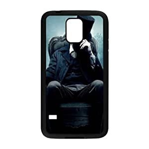 Abraham Lincoln in Mist Samsung Galaxy S5 Cell Phone Case Black Phone Accessories VG_930897