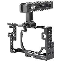SmallRig Camera Cage Kit Including Top Handle and HDMI Clamp for Panasonic Lumix DMC-GX85/ GX80/ GX7 Mark II-2009