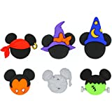 Dress It Up 7924 Disney Button & Embellishments, Mickey & Minnie Halloween Hats