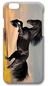 Animals Running Horse Customized Hard Shell 3d iphone 6 plus Case By Custom Service Your Perfect Choice