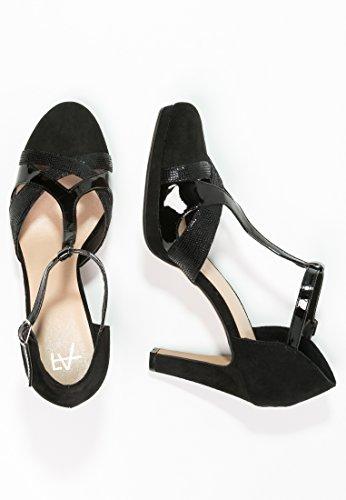 de Zapatos Tac Beige Janes Estilo Negro Mary Rojo Anna EN Mujer de Field Tacones o wCHOCB