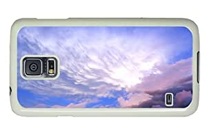 Hipster cheap Samsung Galaxy S5 Case sky clouds hd PC White for Samsung S5 by icecream design