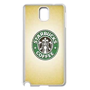 Starbucks Coffee Pattern Productive Back Phone Case For Samsung Galaxy NOTE4 Case Cover -Style-15