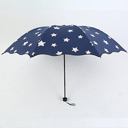 NING567 Klappbare Dual-Purpose Regenschirm / Student // // // Sonnenschutz Umbrella Girl Ein y2CeDAhffj