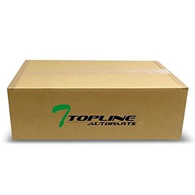 Topline Autopart 4900Mm 4 Layer Universal Waterproof Car Cover+Mirror Pocket W/Life Warranty Ta1