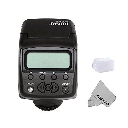 Fomito MINIカメラフラッシュ SONYA6000 対応 マイクロ・一眼レフカメラ A7R対応 ミニA7IIカメラ対応 発光回数100~680 Canon Nikon Sony通用の商品画像