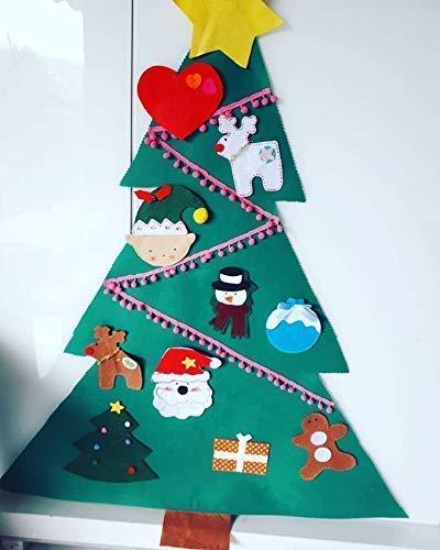 Arbol de Navidad de Fieltro para bebes y niños