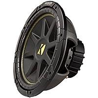 NEW KICKER C15 15 600W Dual 4-Ohm Comp Series Car Audio Subwoofer Sub 10C15D4