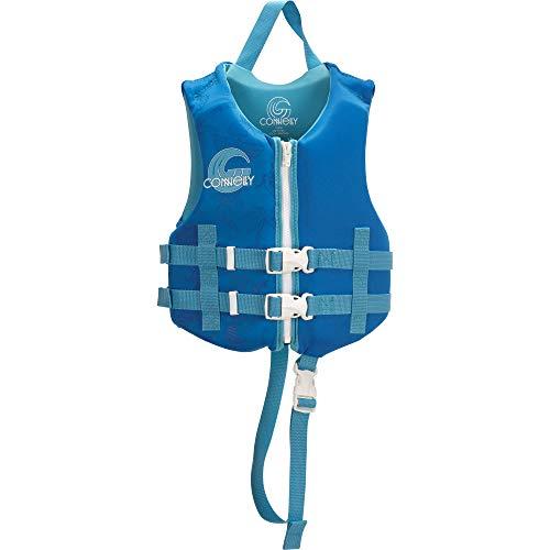 Vest Neo Infant (Connelly Child Boy's Promo Neo Vest - Coast Guard Approved)