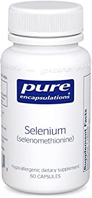 Pure Encapsulations - Selenium (selenomethionine) 60's [Health and Beauty]