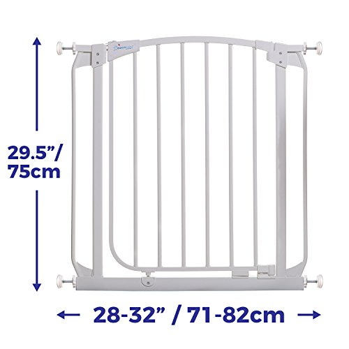 Dreambaby Chelsea Auto Close Security Gate in White