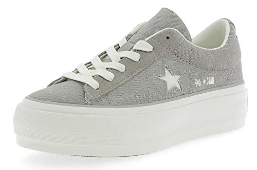 35 Femme One Chaussures Star Platform Converse Gris qYg8Ocw