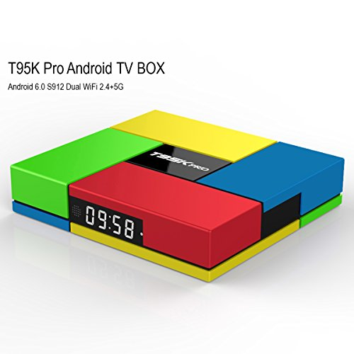 NEW- Pure Version nansii T95K Pro Android TV Box Amlogic S91