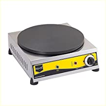 Non-Stick TEFLON COATED Electric PROFESSIONAL Commercial Crepe Maker Pancake Griddle Machine
