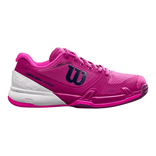 Wilson Rush Pro 2.5 Scarpe Da Tennis Da Donna Molto Bacche / Bianco / Rosa Bagliore