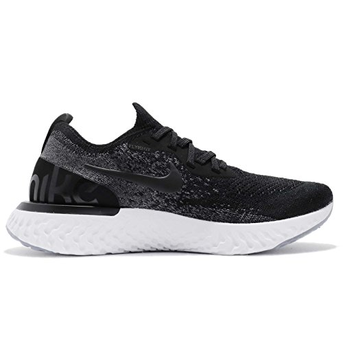 Scarpe Running 001 Flyknit React Pure Platinum Black Dark Black Donna Wmns Epic Grey Multicolore NIKE w4UqFRWZ4
