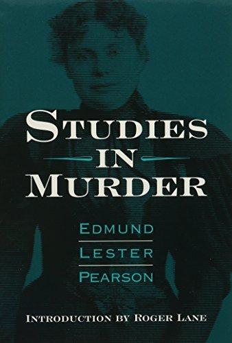STUDIES IN MURDER